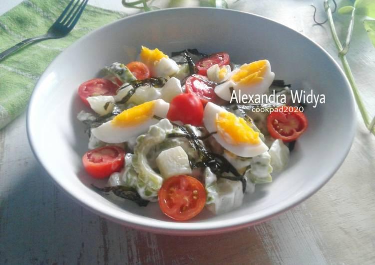 Resep Salad Labu Siam & Pare