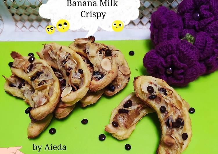 Resep Banana Milk Crispy