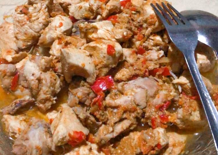 Resep Tongseng ayam diet (tanpa santan-tanpa minyak)