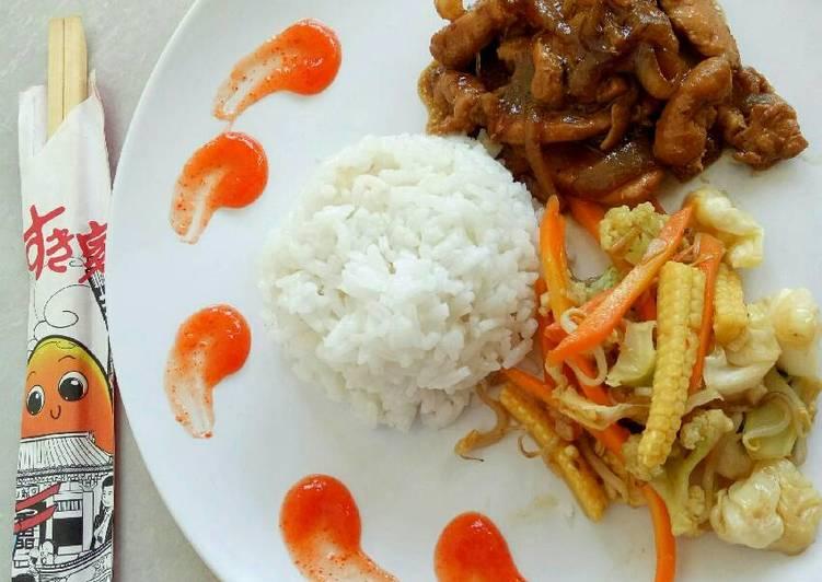 Cara Membuat Chicken Teriyaki Yasai Itame Tumis Sayur Enak