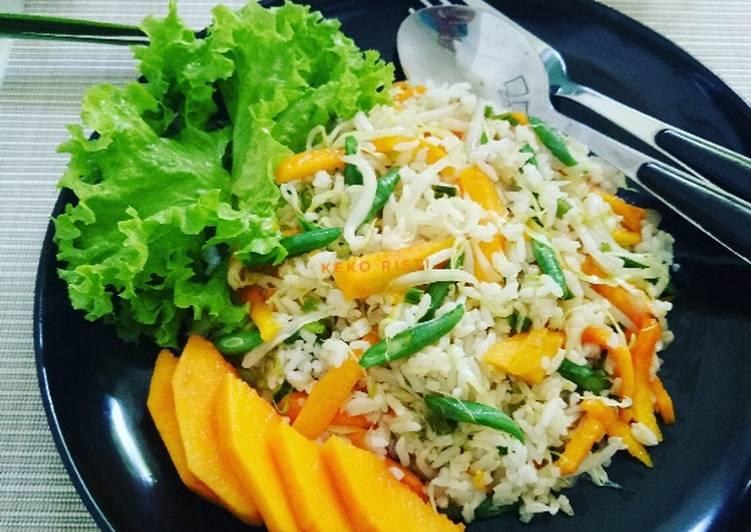 Resep NasGor Mangga Thailand
