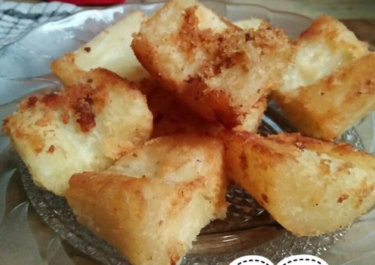 Resep Singkong goreng empuk