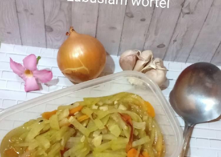 Resep Labusiam wortel
