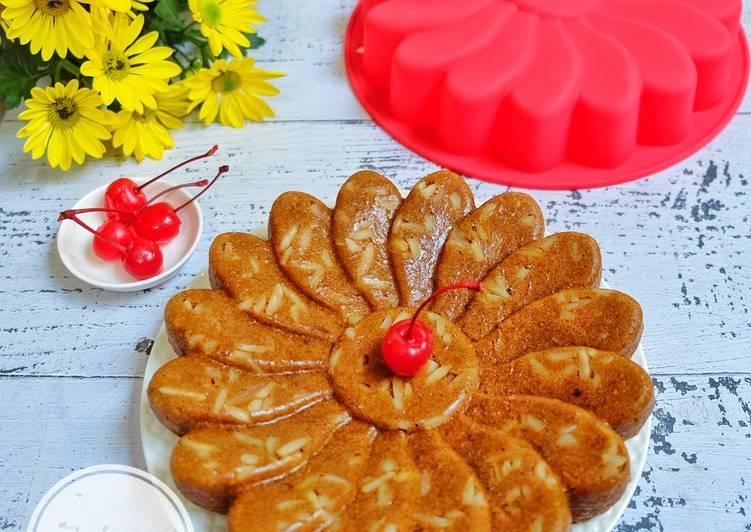 Resep Cake kukus kenari