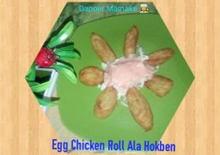 Resep Egg Chicken Roll ala Hokben (Resep Mbak Phie)