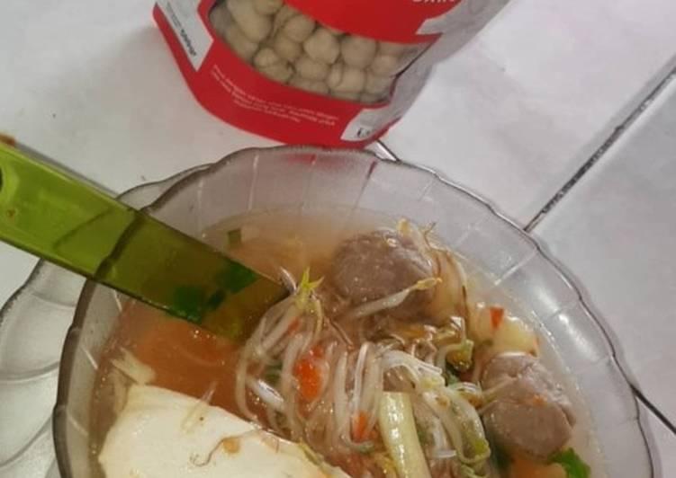 Resep Bakso Kuah Homemade