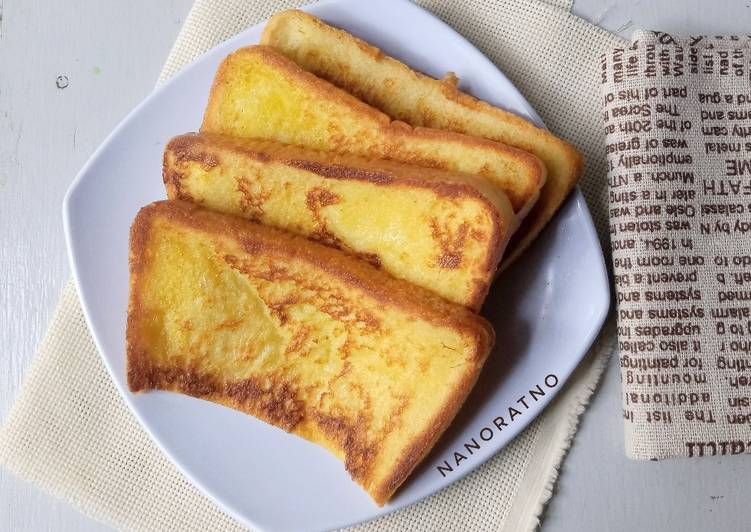 Resep Super Moist French Toast