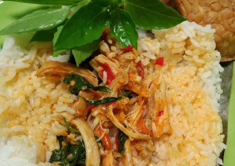Resep Nasi Bakar Ayam Kemangi sederhana