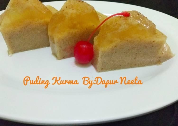 Resep Puding Kurma