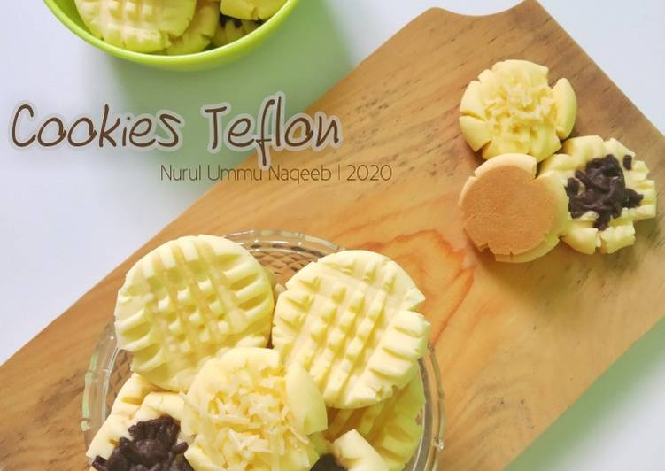 Resep Cookies Teflon