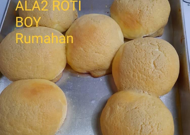 Resep Ala2 Roti Boy Rumahan
