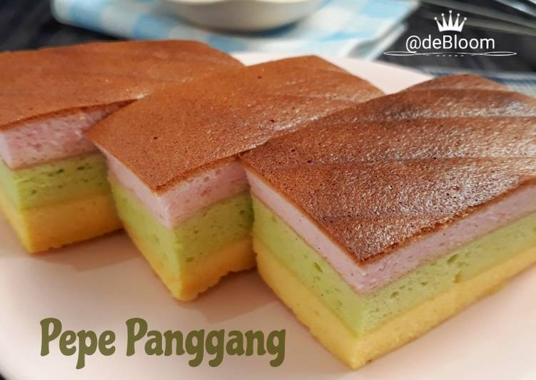 Resep 6Pepe Panggang (Lapis Putih Telur)