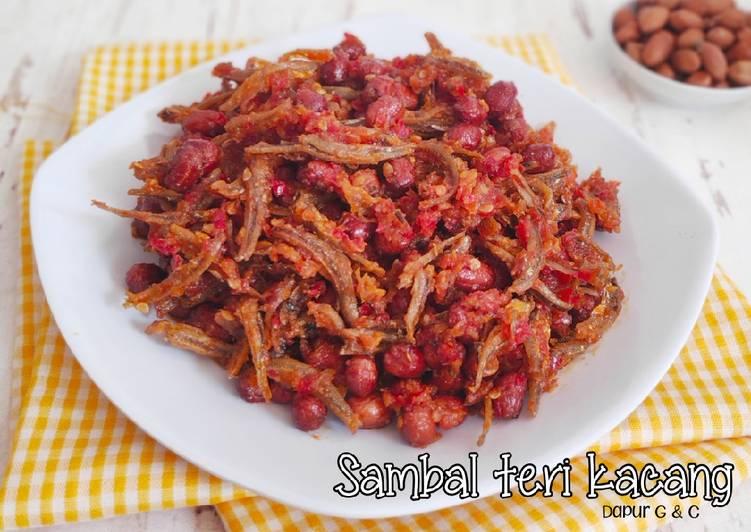 Resep Sambal teri kacang
