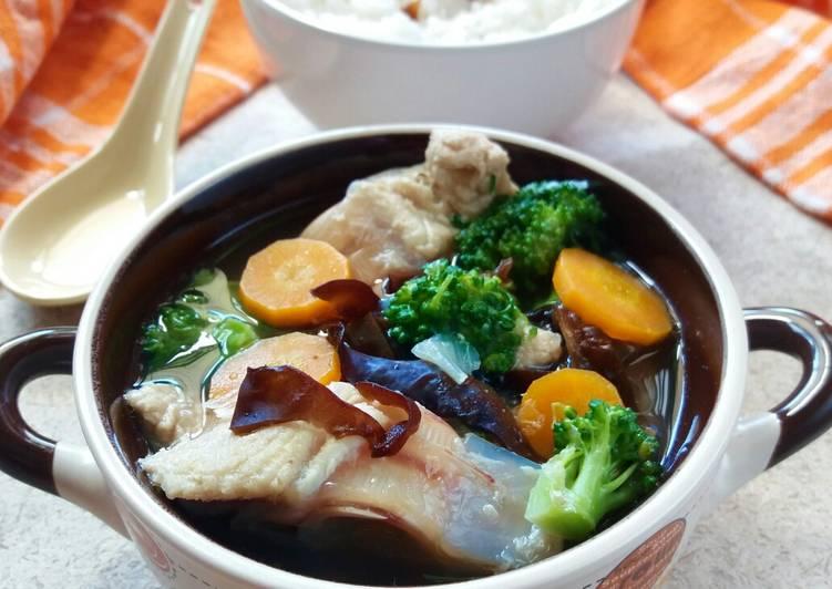 Resep Sup tulang ikan tuna
