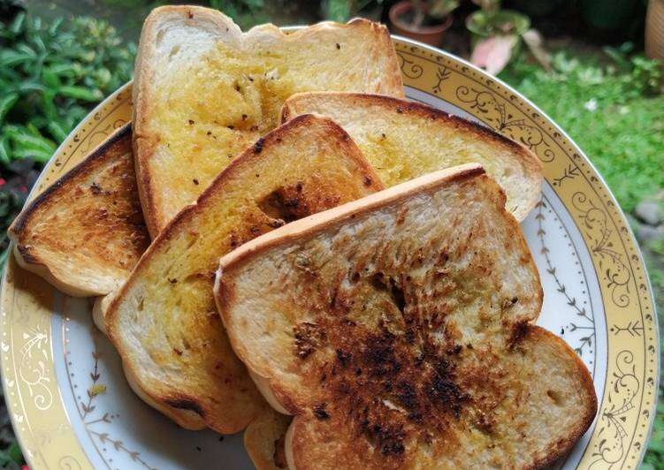 Resep Garlic bread