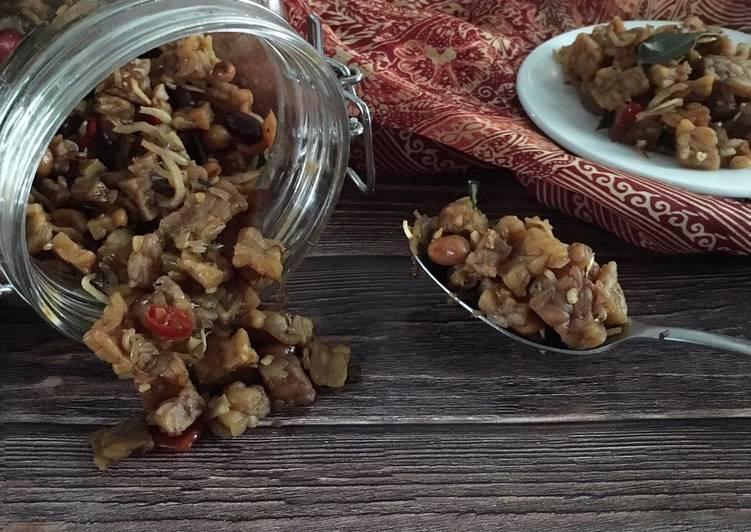Resep Kering Tempe dan Teri Kacang