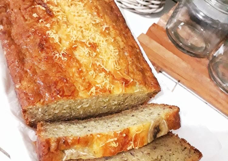 Resep CAKE PISANG tanpa mikser