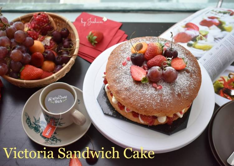 Resep Victoria Sandwich Cake