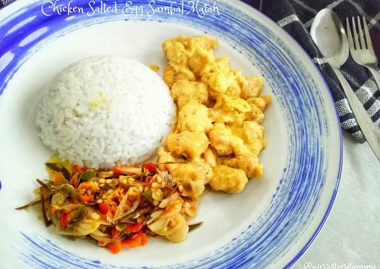 Resep Chicken salted egg sambal matah #bikinramadhanberkesan #rabubaru