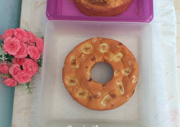 Resep Bolu Pisang Lembut (All in one methode) by pak Sahak