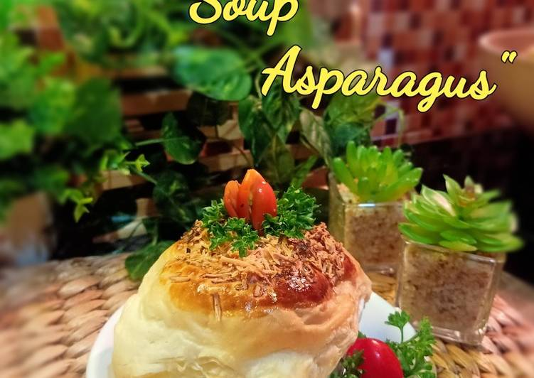 Resep Zoppa soup asparagus