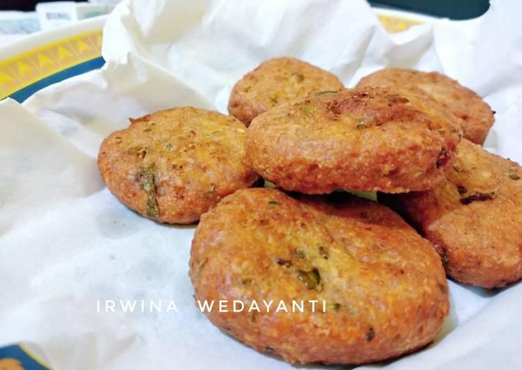 Resep Perkedel ayam / nugget goreng