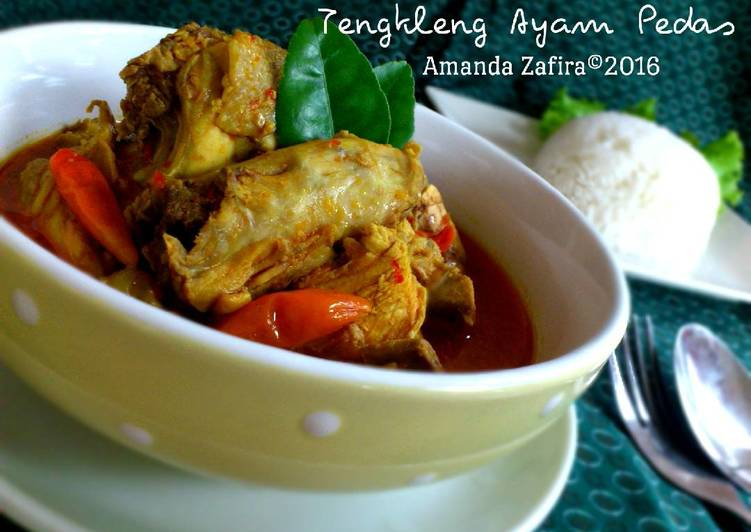 Resep Tengkleng Ayam Pedas