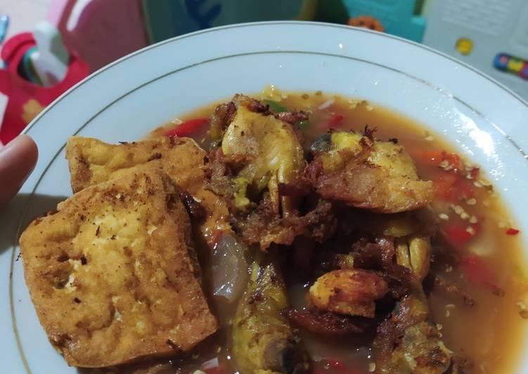 Resep Pecak Ayam Tahu Ala Betawi