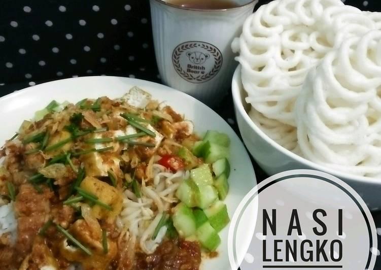 Resep Nasi Lengko Khas Cirebon #pr_bukannasibiasa