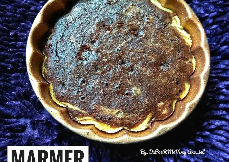Resep Marmer Cake Keto