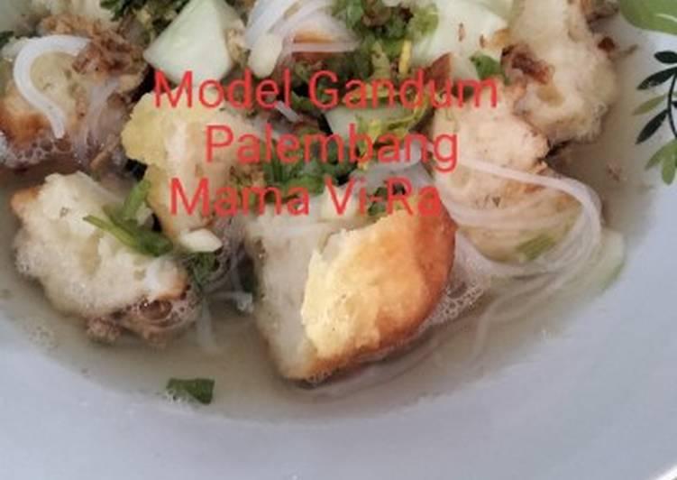 Resep Model Gandum Palembang