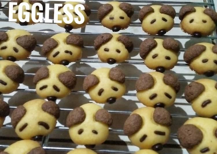 Resep Cookies Dog Eggless