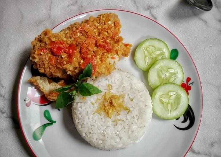 Resep Ayam Geprek Bensu kw