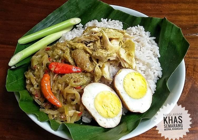 Resep Nasi Ayam Khas Semarang