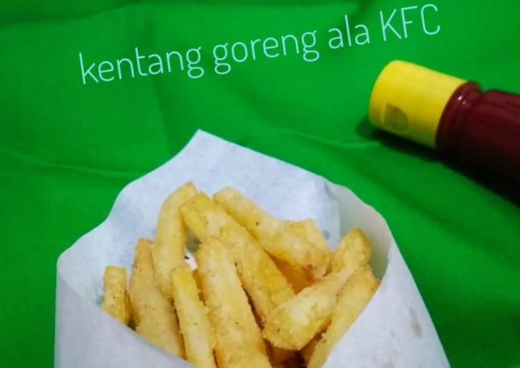 Resep Kentang goreng ala KFC #seninsemangat