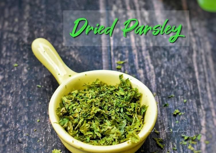 Resep Dried Parsley