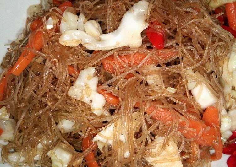 Resep Bihun goreng
