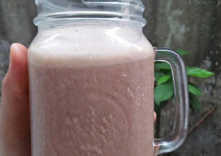 Resep Cocoa Espresso Oatmeal Smoothies