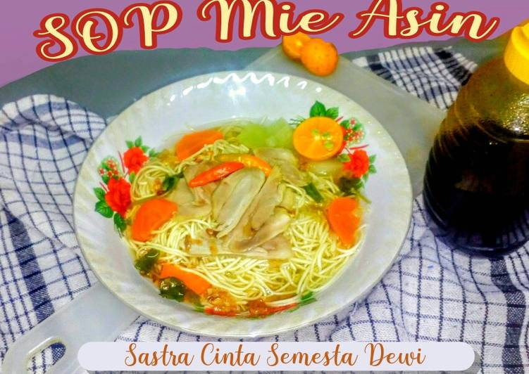 Resep Sup Mie Asin