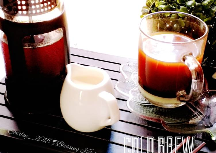 Resep Cold Brew