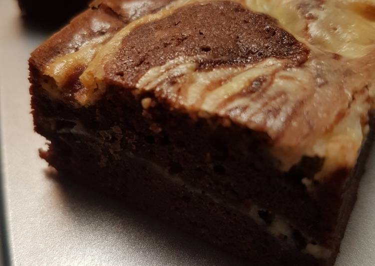 Resep Brownies Creamcheese
