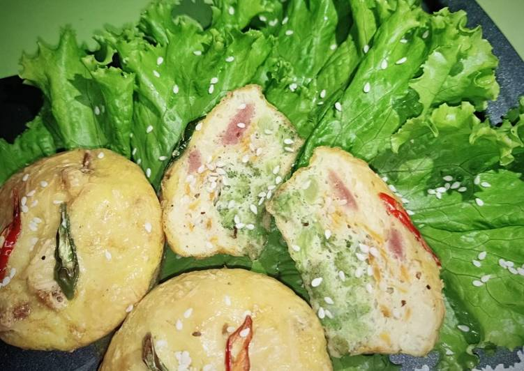Resep Broccoli Egg Cheese Muffins
