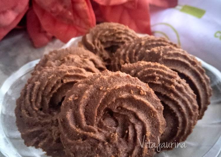 Resep Chocolate Cookies
