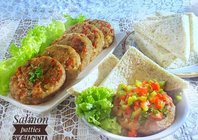 Resep Salmon Patties Recipe