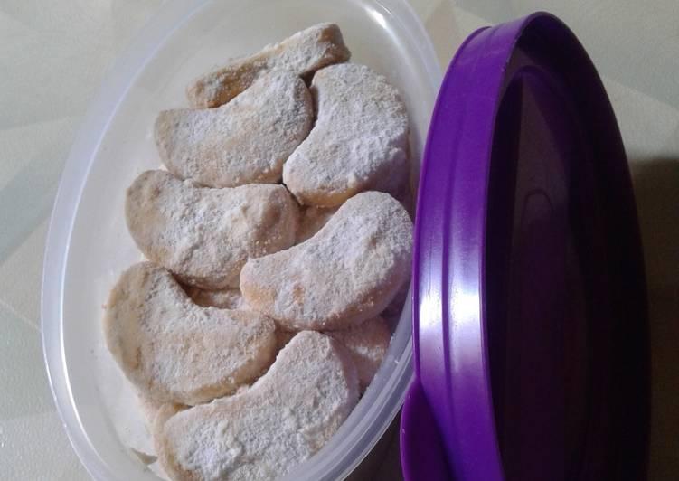 Resep Cookies putri salju klasik