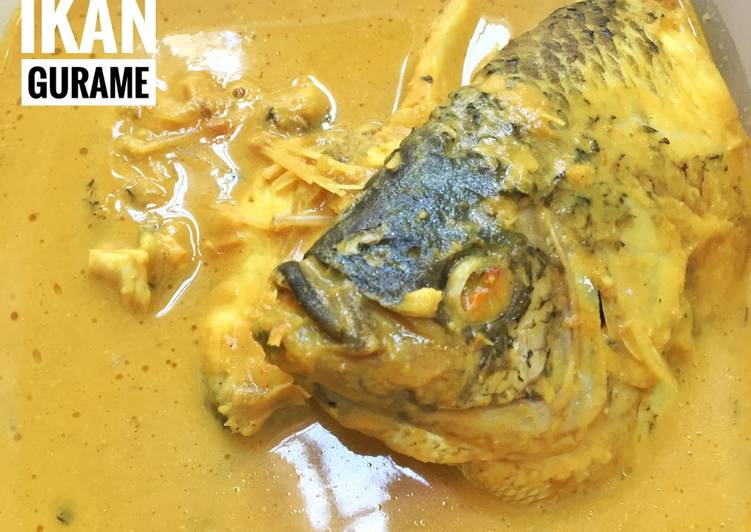 Resep Gulai Ikan Gurame