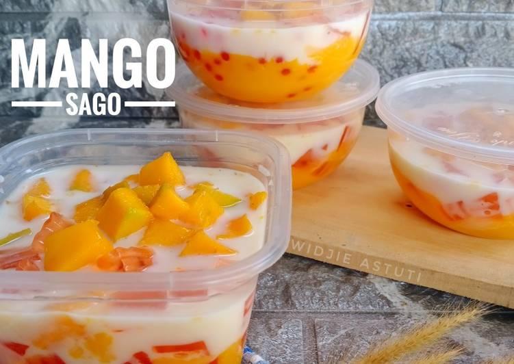 Resep Mango Sago