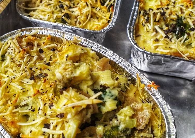 Resep #Cheessy Potatoes Brokoli