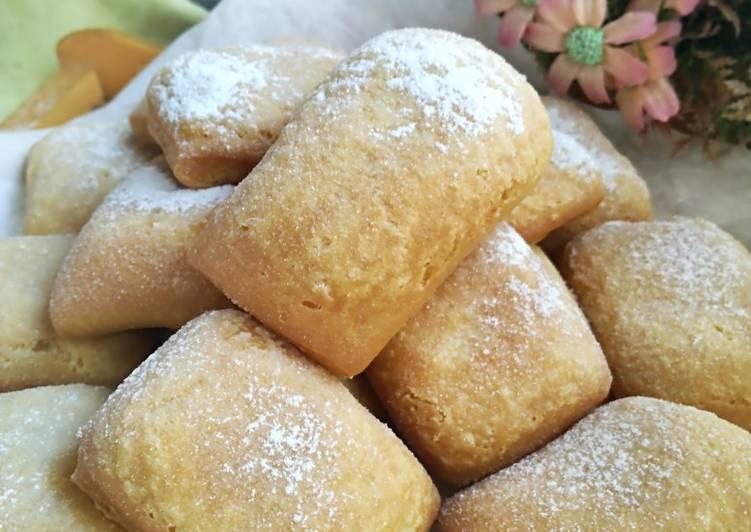 Resep Odading/Roti Bantal (dengan soda kue)