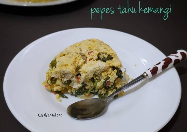 Resep Pepes tahu kemangi(tanpa daun pisang)